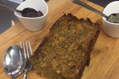 Kasteelhoeve Wange recepten groentenpaté faciliteiten maaltijd pure keuken bio