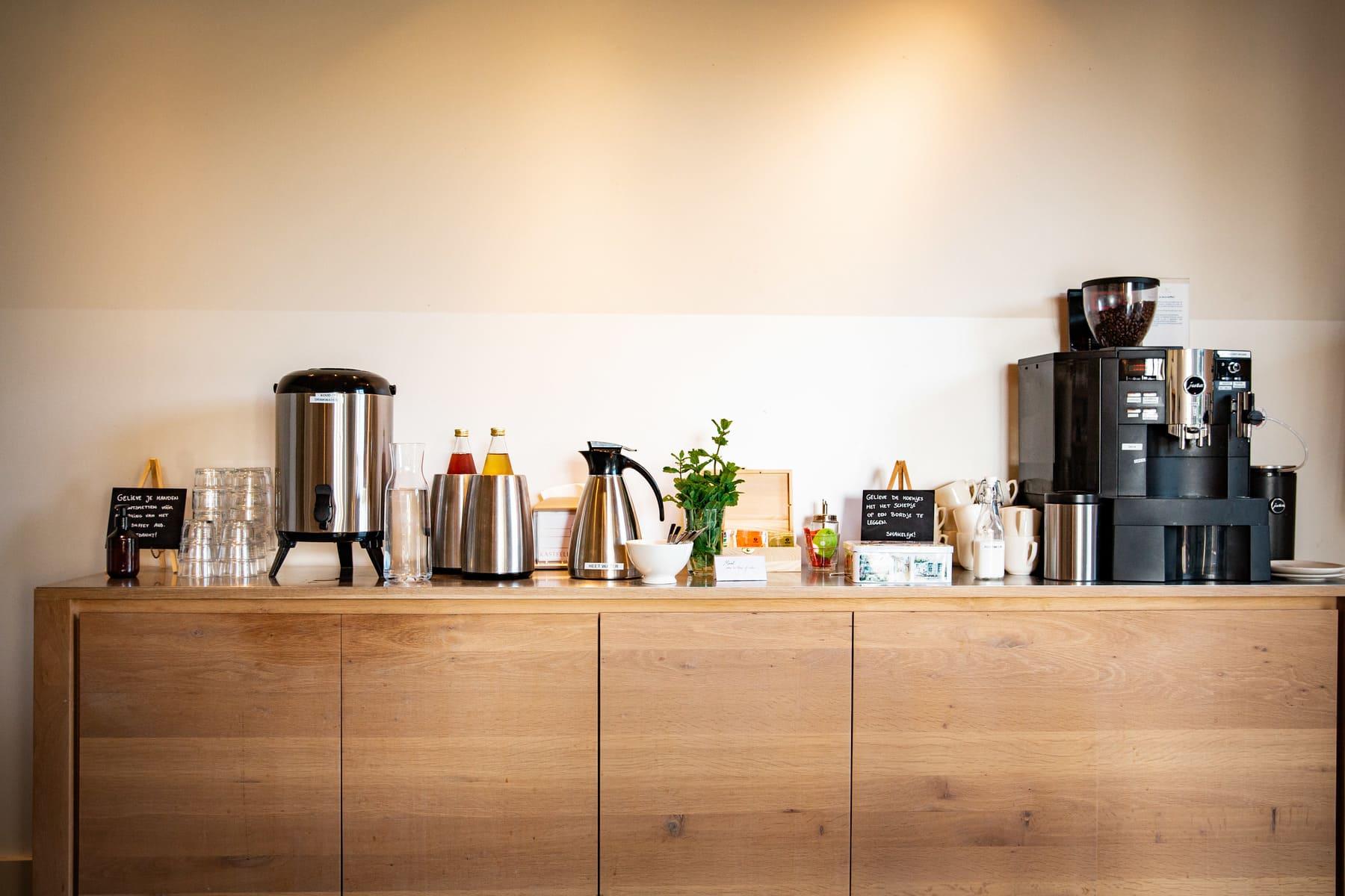 Kasteelhoeve Wange ontbijt koffie koffiepauze bedrijven & organisaties formules vergaderruimtes teambuilding faciliteiten Landen