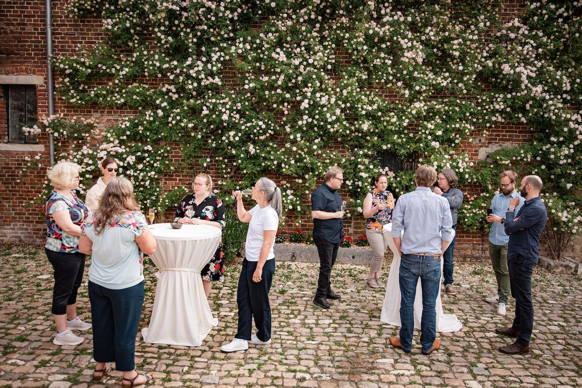 Kasteelhoeve Wange feest aperitief familie & vrienden feestformules op maat activiteiten cava iets te vieren receptie