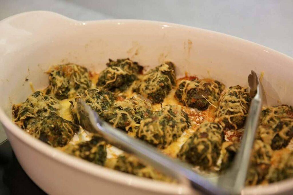 Kasteelhoeve Wange recepten Strangolapretti faciliteiten maaltijd pure keuken bio