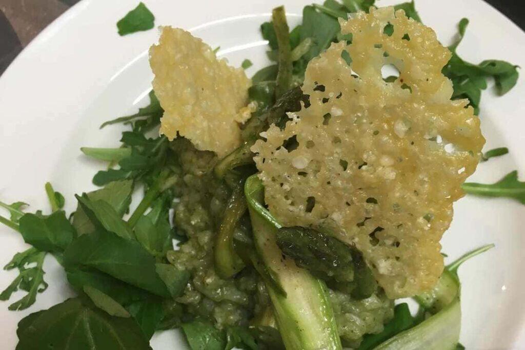 Kasteelhoeve Wange recepten risotto van vergeten groenten faciliteiten maaltijd pure keuken bio