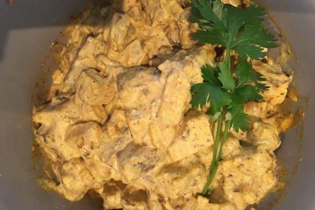 Kasteelhoeve Wange recepten tofs curry faciliteiten maaltijd pure keuken bio